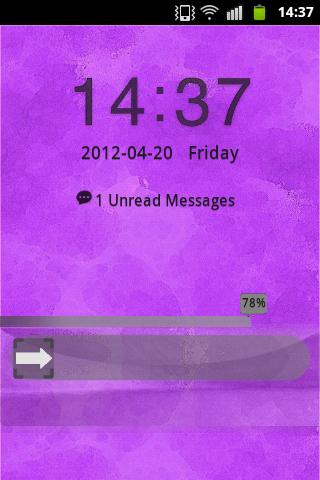 Purple Violet GO Locker Buy