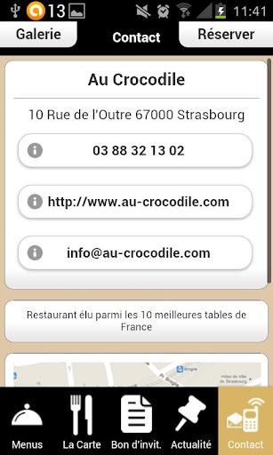【免費生活App】Au Crocodile-APP點子