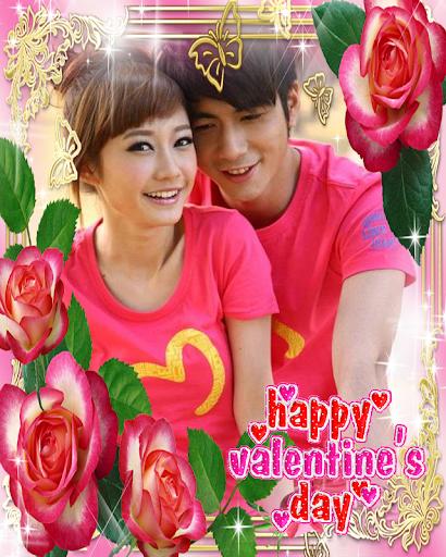 Love Valentine Frames Free