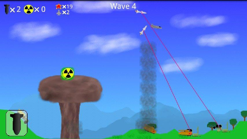 Atomic Bomber- screenshot