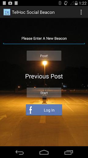 TelHoc Social Beacon