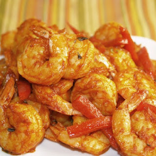 Spicy Garlic And Smoked Paprika Roasted Shrimp