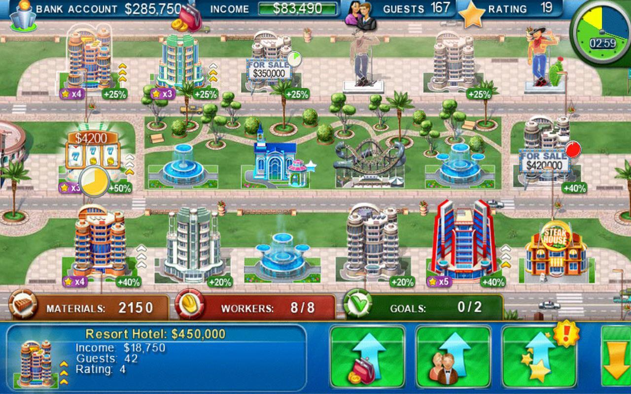 Hotel Mogul: Las Vegas- screenshot