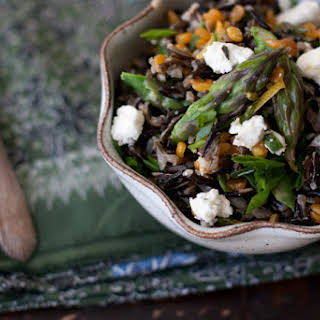Spring Wild Rice Salad.