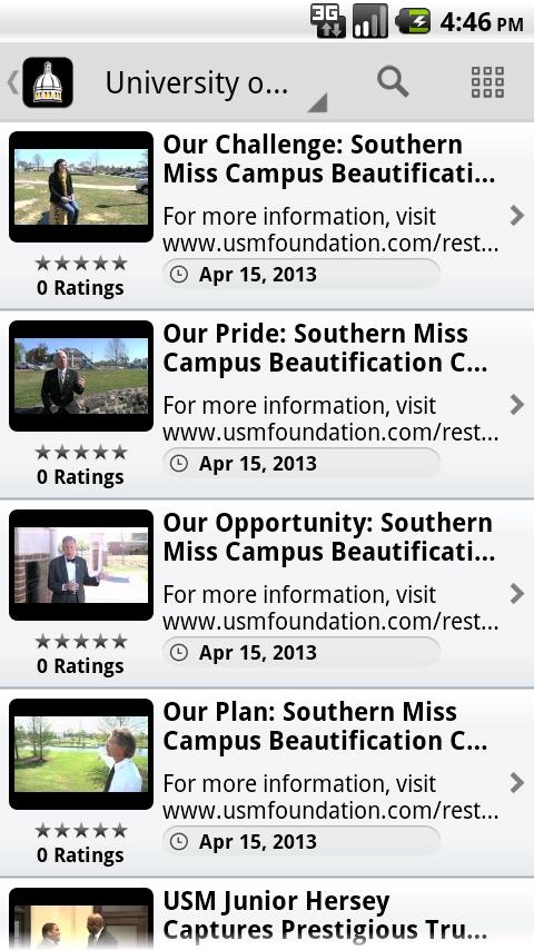 iSouthernMS - screenshot
