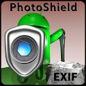 Safe photos, manage EXIF data icon