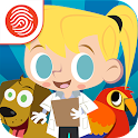 Big Kid Life Vet - Fingerprint icon