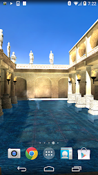 Roman Bath 3D Live Wallpaper APK screenshot thumbnail 5