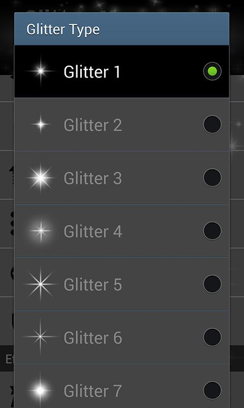 ★ Glitter Monogram Free ★- screenshot