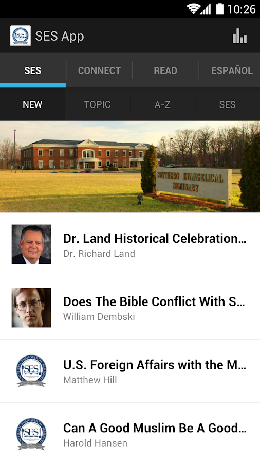 SES Apologetics App - screenshot