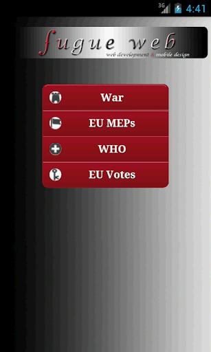 EU WHO War