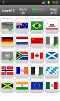 Screenshot of Logo Quiz - Flags