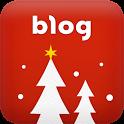 크리스마스 이브 테마-naver blog theme icon