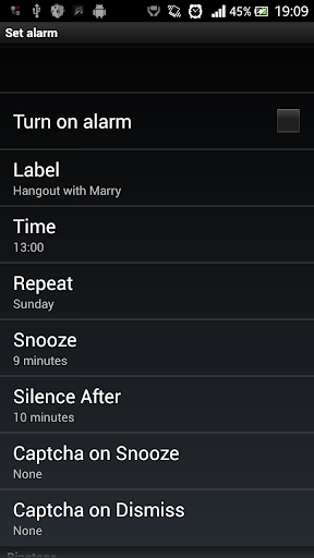 Alarm Clock HD 2014