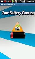 Screenshot of Low Battery Camera