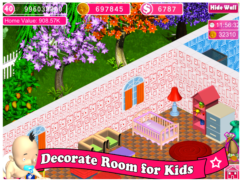 barbie decoration games house game decorating - House Decorating Games