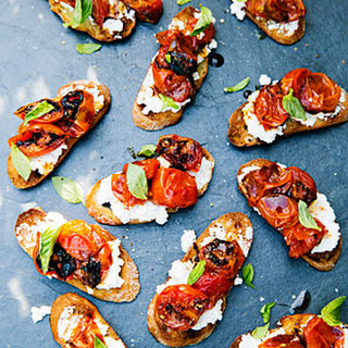 Caramelized Tomato Bruschetta Recipe