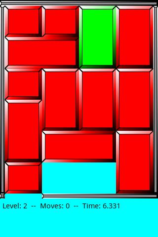 Sliding Block Puzzle- screenshot