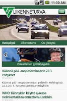 Screenshot of Liikenneturva