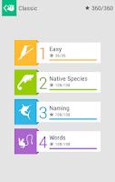 Screenshot of Taxonomy - Animal Quiz