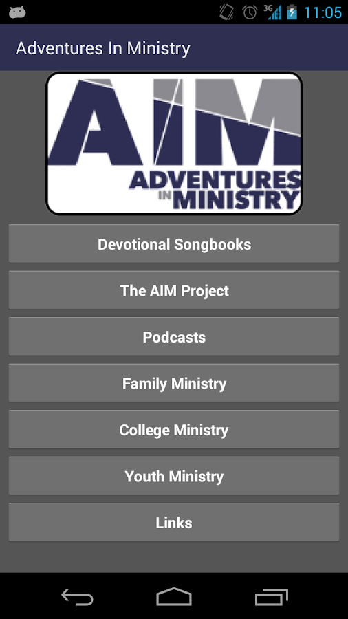 Adventures In Ministry (AIM)- screenshot