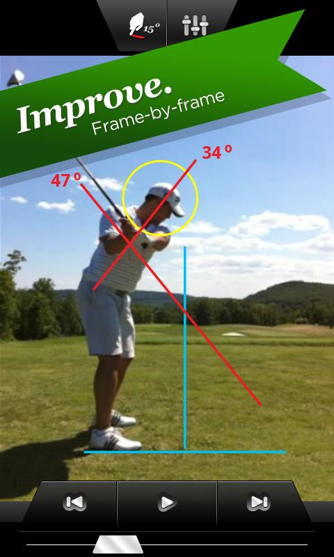 iSwing™ - Golf Swing Analyzer - screenshot