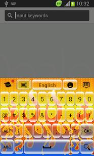 Digital Fire Keyboard - screenshot thumbnail
