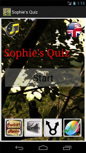 Sophie's Quiz Free