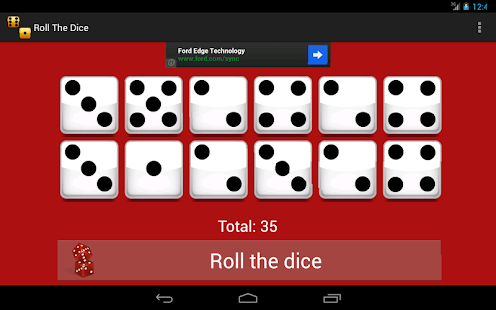 Simple Dice Roller- screenshot thumbnail