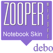 Notebook Zooper Skin