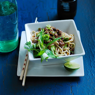 Spicy Beef with Noodles.