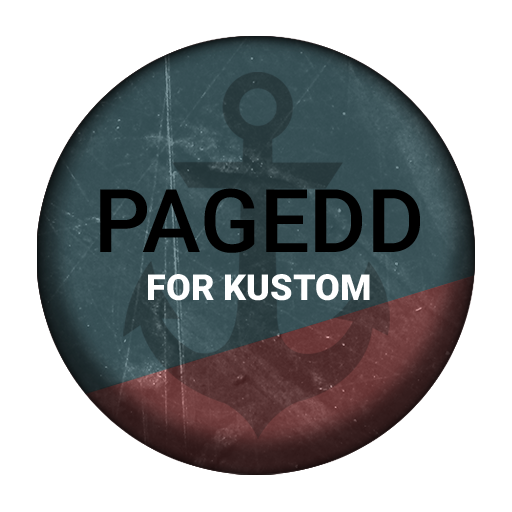 Pagedd for Kustom 個人化 App LOGO-APP試玩