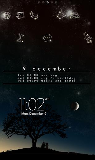 Star Voice LINE Launcher theme for PC