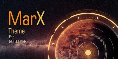 Screenshot of MarX GO LOCKER THEME