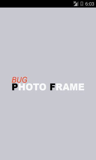 Bug Photo Frame