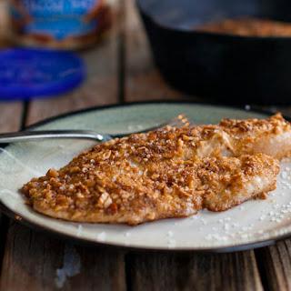 Almond Crusted Tilapia.