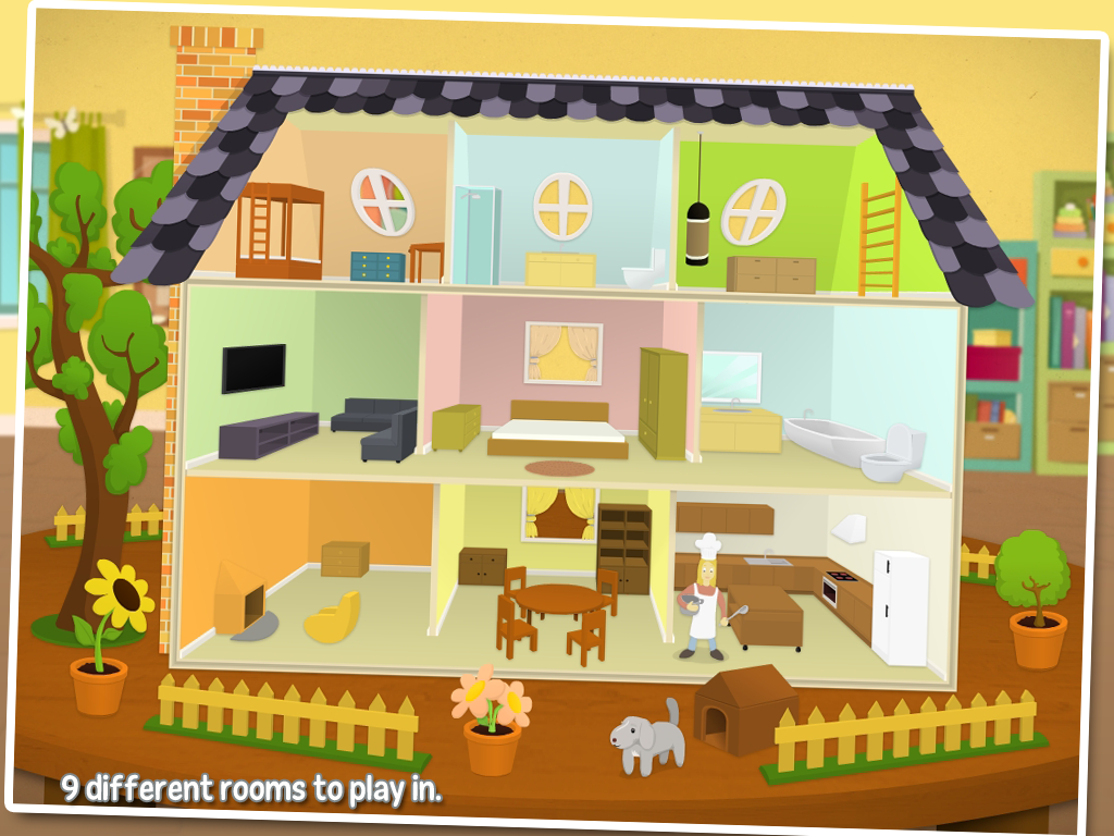 My house fun for kids android apps on google play for House pictures for kids