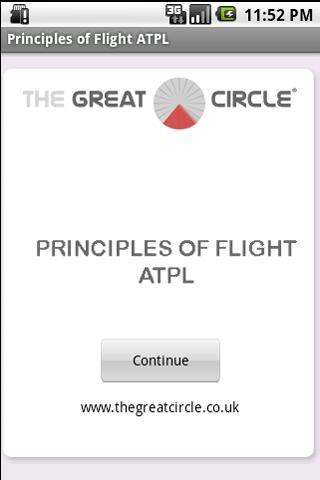 Principles of Flight ATPL - screenshot