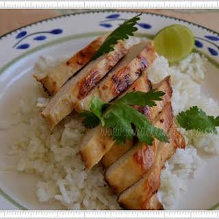 Oriental-style Chicken.