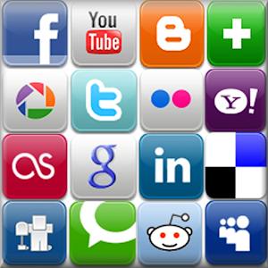 All Social Media & Network 社交 App LOGO-APP試玩