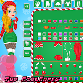Christmas doll creator dressup