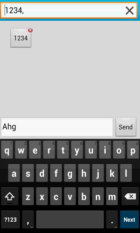 Secret Sms Lite - screenshot