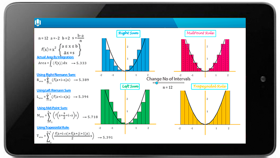 MiBook-Math Interactive Book: captura de pantalla