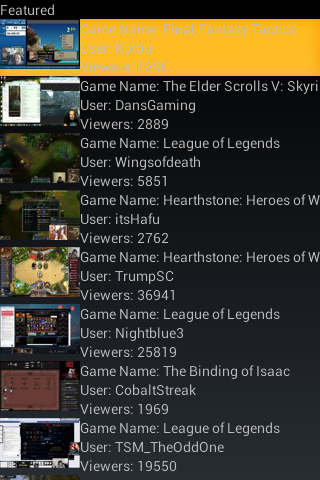 Game Streamer Watcher