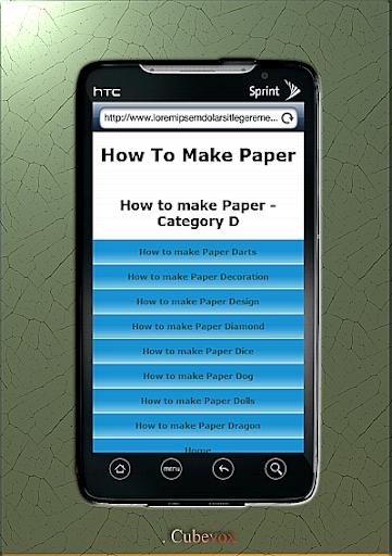 【免費生活App】How To Make Paper Arts-APP點子