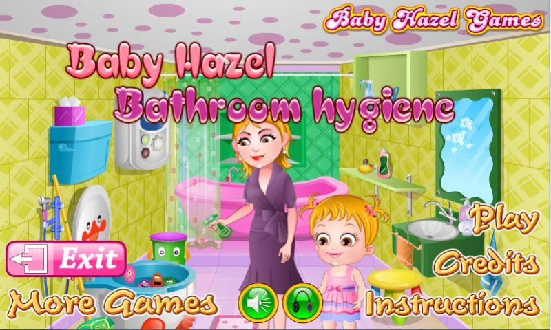 Baby Hazel Bathroom Hygiene- screenshot