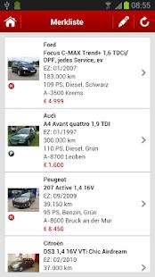 gebrauchtwagen.at - screenshot thumbnail