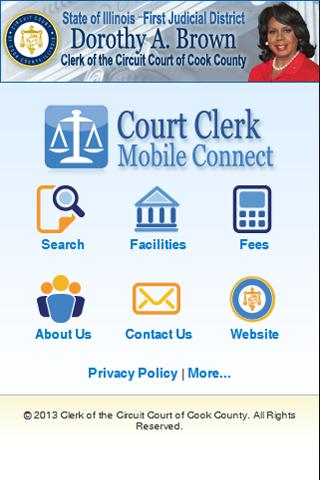 Court Clerk Mobile Connect