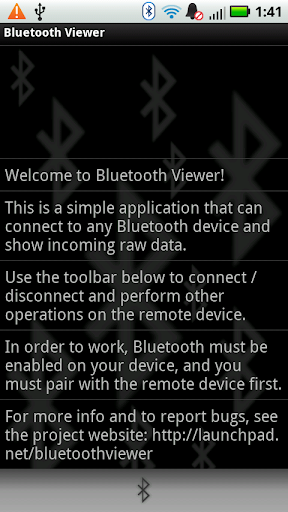 Bluetooth Viewer