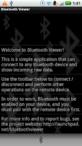 Bluetooth Viewer v1.1.1